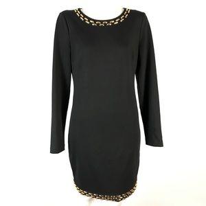 MICHAEL Michael Kors Embellished Sheath Dress